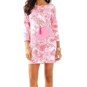 Lilly Pulitzer Hot Coral Trunk in Love Dress
